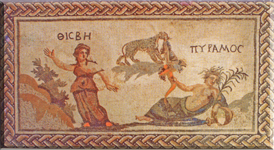 pyramus und thisbe eine antike liebesgeschichte mit happy